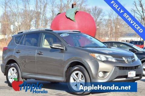 2013 Toyota RAV4 for sale at APPLE HONDA in Riverhead NY