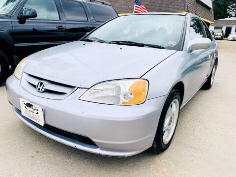 2003 Honda Civic for sale at Auto Space LLC in Norfolk VA