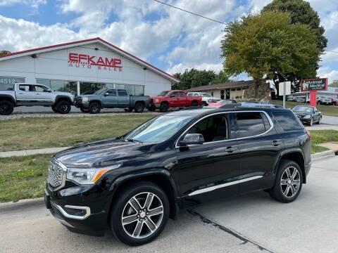 2019 GMC Acadia for sale at Efkamp Auto Sales LLC in Des Moines IA
