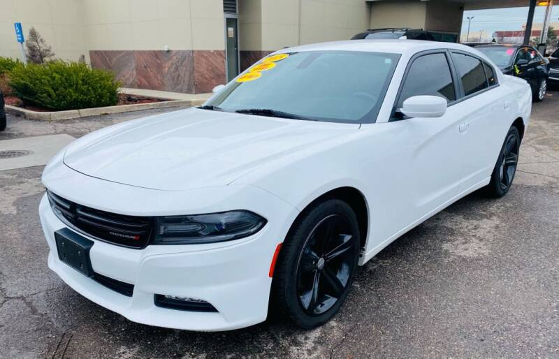 2015 Dodge Charger for sale at Big Three Auto Sales Inc. in Detroit MI