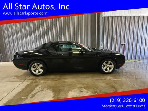 2012 Dodge Challenger for sale at All Star Autos, Inc in La Porte IN