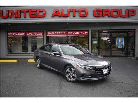 2018 Honda Accord for sale at United Auto Group in Putnam CT