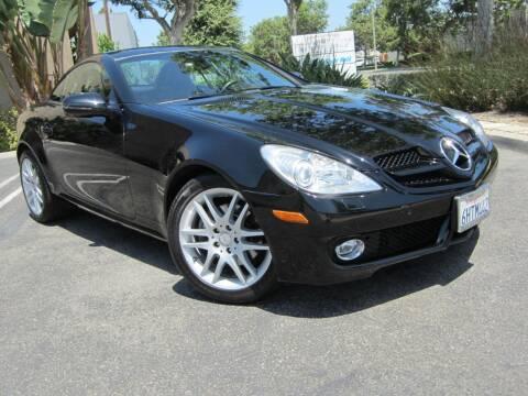 2009 Mercedes-Benz SLK for sale at ORANGE COUNTY AUTO WHOLESALE in Irvine CA
