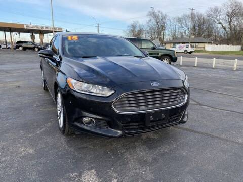 2015 Ford Fusion for sale at Kansas City Motors in Kansas City MO