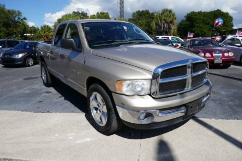 2004 Dodge Ram Pickup 1500 for sale at J Linn Motors in Clearwater FL