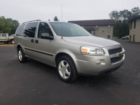 2008 Chevrolet Uplander for sale at Shores Auto in Lakeland Shores MN
