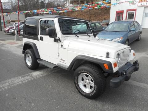 2006 Jeep Wrangler for sale at Ricciardi Auto Sales in Waterbury CT