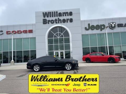 2017 Ford Mustang for sale at Williams Brothers - Pre-Owned Monroe in Monroe MI