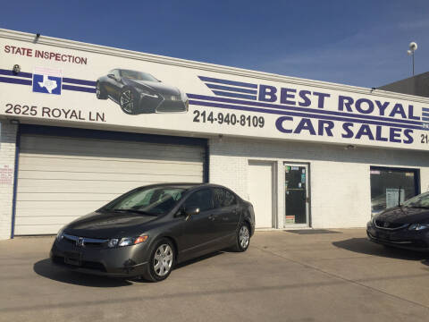 2006 Honda Civic for sale at Best Royal Car Sales in Dallas TX