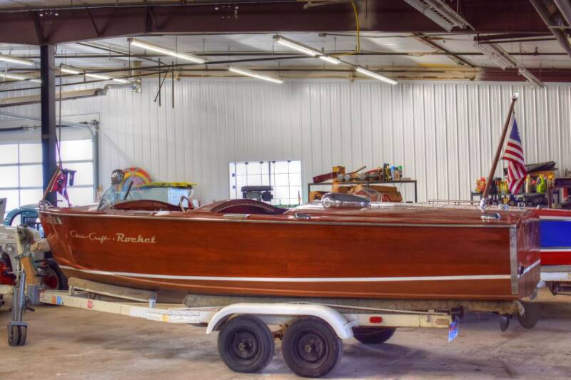 1953 Chris-Craft Rocket for sale at Hooked On Classics in Watertown MN