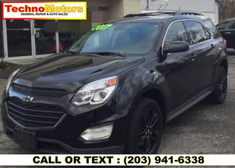 2017 Chevrolet Equinox for sale at Techno Motors in Danbury CT
