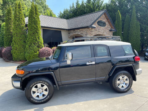 2008 Toyota FJ Cruiser for sale at Hoyle Auto Sales in Taylorsville NC