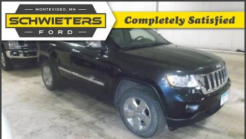 2013 Jeep Grand Cherokee for sale at Schwieters Ford of Montevideo in Montevideo MN