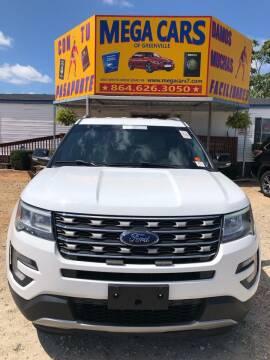 2017 Ford Explorer for sale at Mega Cars of Greenville in Greenville SC
