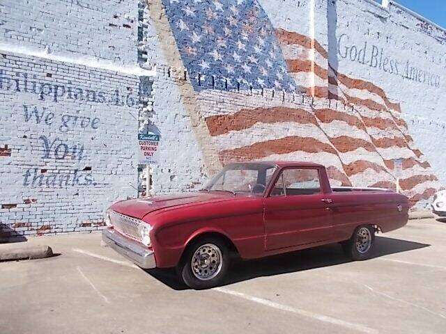 1962 Ford Ranchero for sale at LARRY'S CLASSICS in Skiatook OK