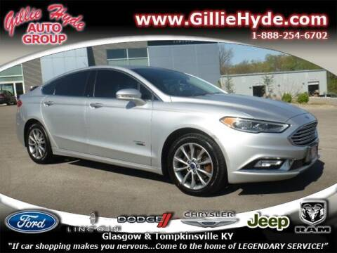 2017 Ford Fusion Energi for sale at Gillie Hyde Auto Group in Glasgow KY