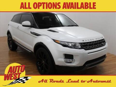2015 Land Rover Range Rover Evoque Coupe for sale at Autowest of GR in Grand Rapids MI