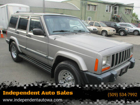 2000 Jeep Cherokee for sale at Independent Auto Sales in Spokane Valley WA