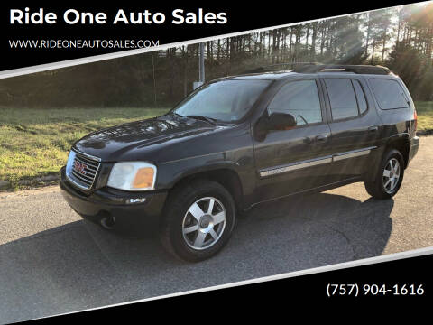 2005 GMC Envoy XL for sale at Ride One Auto Sales in Norfolk VA