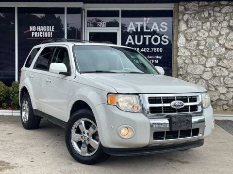 2012 Ford Escape for sale at ATLAS AUTOS in Marietta GA