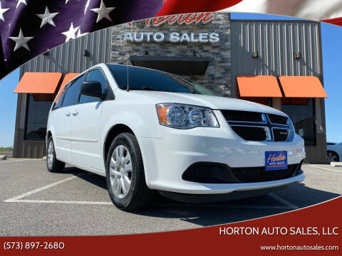2015 Dodge Grand Caravan for sale at HORTON AUTO SALES, LLC in Linn MO