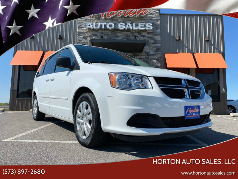 2015 Dodge Grand Caravan for sale at HORTON AUTO SALES, LLC in Linn MO