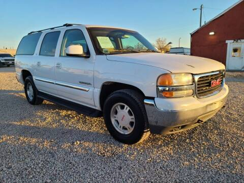2000 GMC Yukon XL for sale at BERKENKOTTER MOTORS in Brighton CO