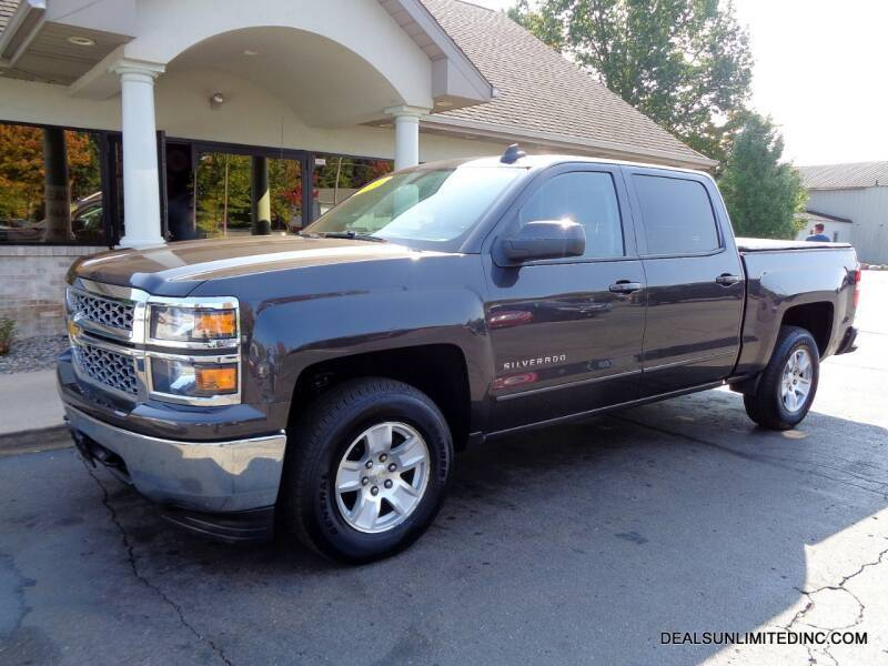 2015 Chevrolet Silverado 1500 for sale at DEALS UNLIMITED INC in Portage MI