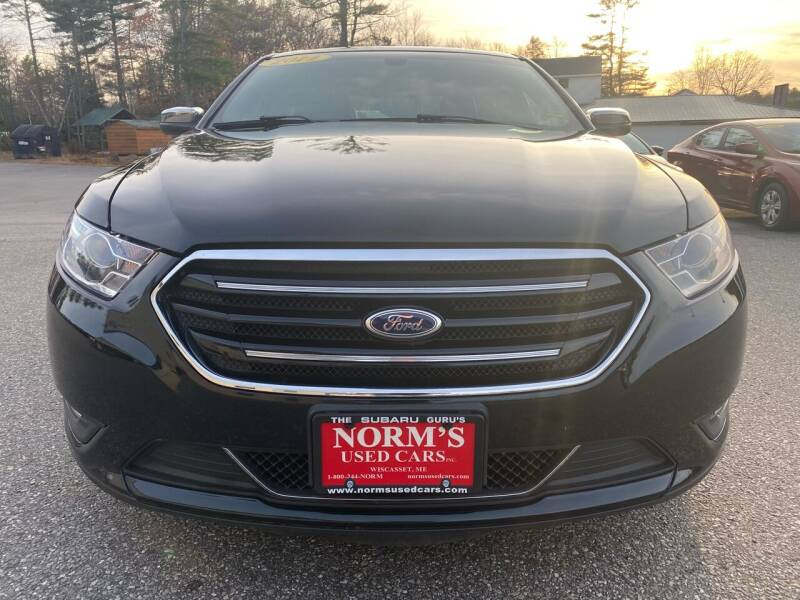 2014 Ford Taurus for sale at Norm's Used Cars INC. in Wiscasset ME