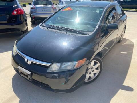 2007 Honda Civic for sale at Raj Motors Sales in Greenville TX