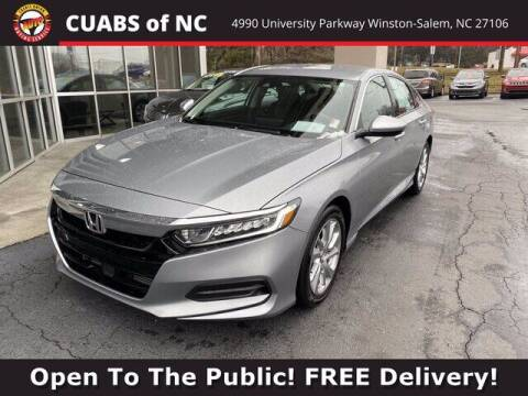 2019 Honda Accord for sale at Credit Union Auto Buying Service in Winston Salem NC