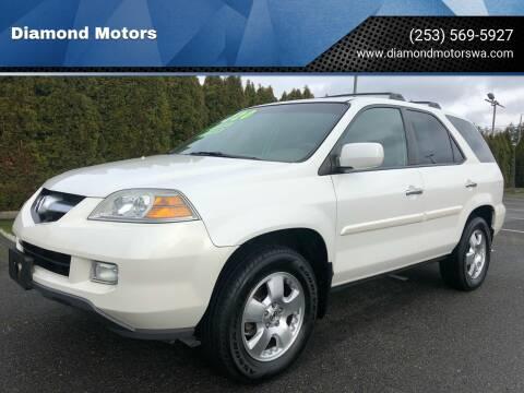 2005 Acura MDX for sale at Diamond Motors in Lakewood WA