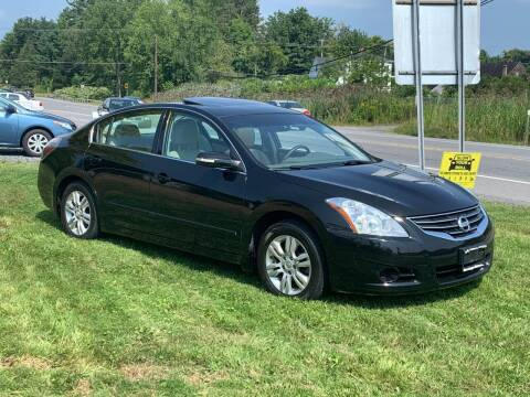 2011 Nissan Altima for sale at Saratoga Motors in Gansevoort NY