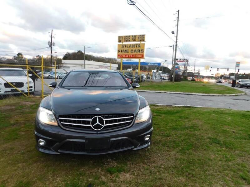 2008 Mercedes-Benz CL-Class for sale at Atlanta Fine Cars in Jonesboro GA