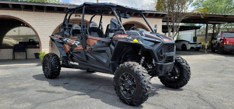 2021 Polaris rzr for sale at FRANCIA MOTORS in El Paso TX