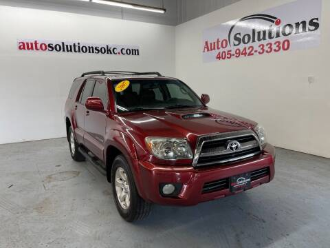 2007 Toyota 4Runner for sale at Auto Solutions in Warr Acres OK