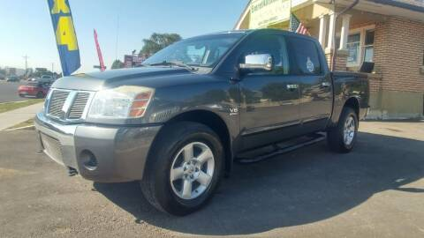 2004 Nissan Titan for sale at Everett Automotive Group in Pleasant Grove UT