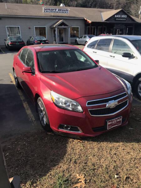 2013 Chevrolet Malibu for sale at P & M AUTO in Springfield VT