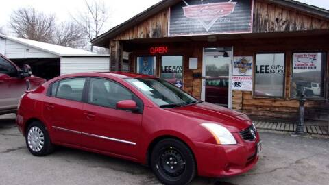 2012 Nissan Sentra for sale at LEE AUTO SALES in McAlester OK