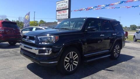 2017 Toyota 4Runner for sale at Premier Auto Sales Inc. in Big Rapids MI