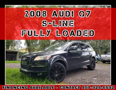 2008 Audi Q7 for sale at AFFORDABLE ONE LLC in Orlando FL