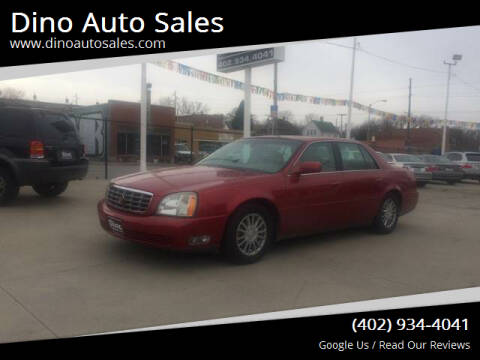 2003 Cadillac DeVille for sale at Dino Auto Sales in Omaha NE