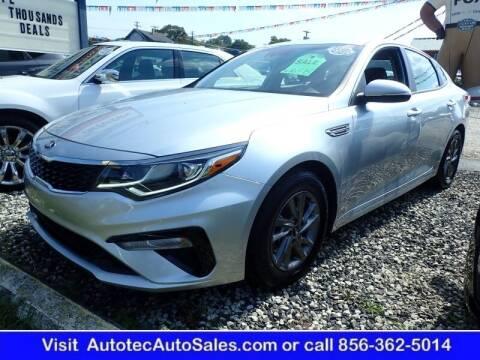 2020 Kia Optima for sale at Autotec Auto Sales in Vineland NJ