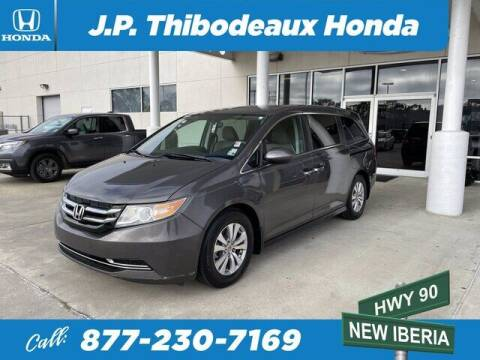 2015 Honda Odyssey for sale at J P Thibodeaux Used Cars in New Iberia LA