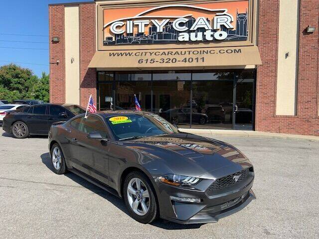 2018 Ford Mustang for sale at CITY CAR AUTO INC in Nashville TN