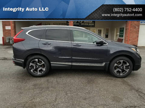 2018 Honda CR-V for sale at Integrity Auto LLC - Integrity Auto 2.0 in St. Albans VT