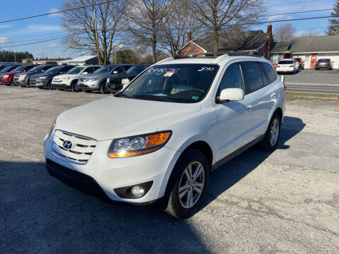2010 Hyundai Santa Fe for sale at US5 Auto Sales in Shippensburg PA