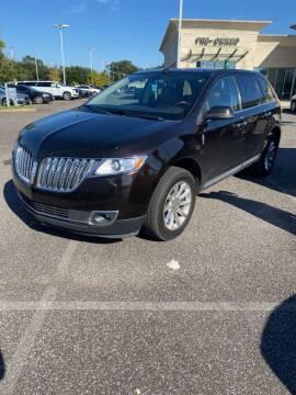 2013 Lincoln MKX for sale at JOE BULLARD USED CARS in Mobile AL
