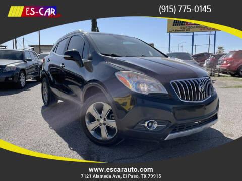 2014 Buick Encore for sale at Escar Auto in El Paso TX