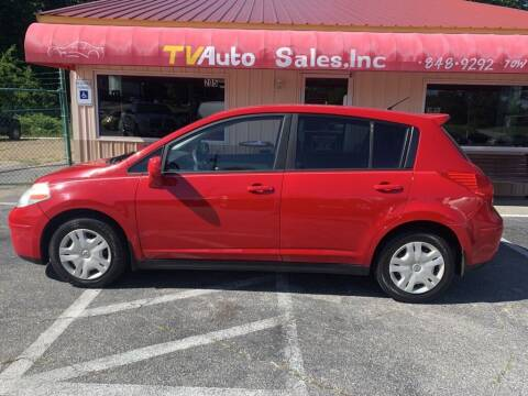 2011 Nissan Versa for sale at TV Auto Sales in Greer SC